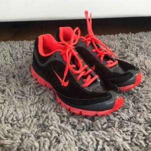 Pink Black Nike Women's Sneakers